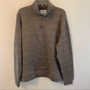 Old Navt Fleece 1/4 Zip Pullover XXL